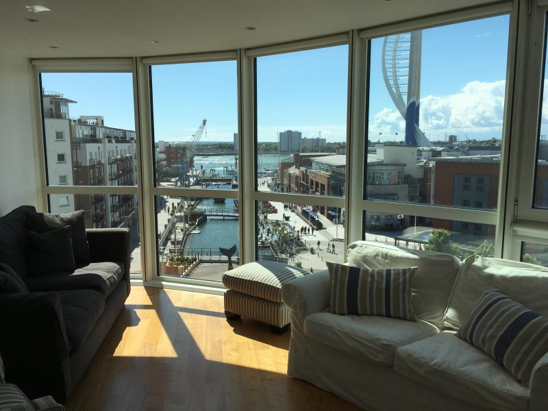 The sought after location in Gunwharf Quays.