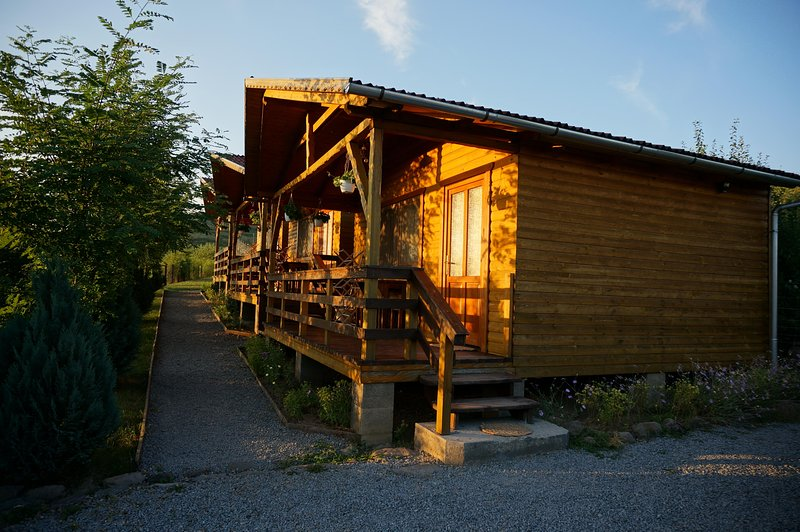 We are renting 3 separated wooden houses in the Salt Region ., holiday rental in Odorheiu Secuiesc