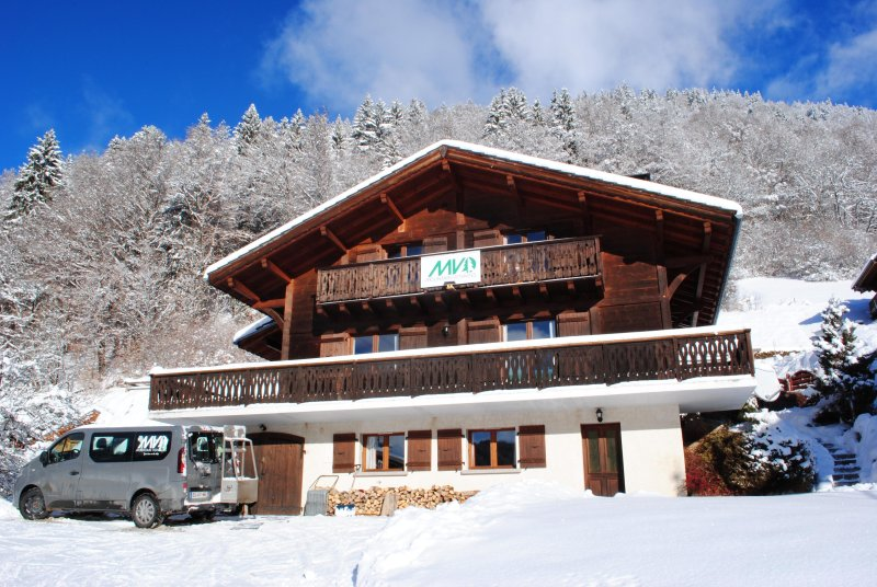 Catered chalet 7min private shuttle to the pistes of Avoriaz, holiday rental in Montriond