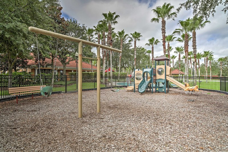 Take the kids to play at the playground!