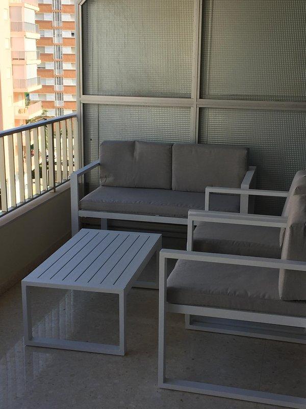chillout terrace area
