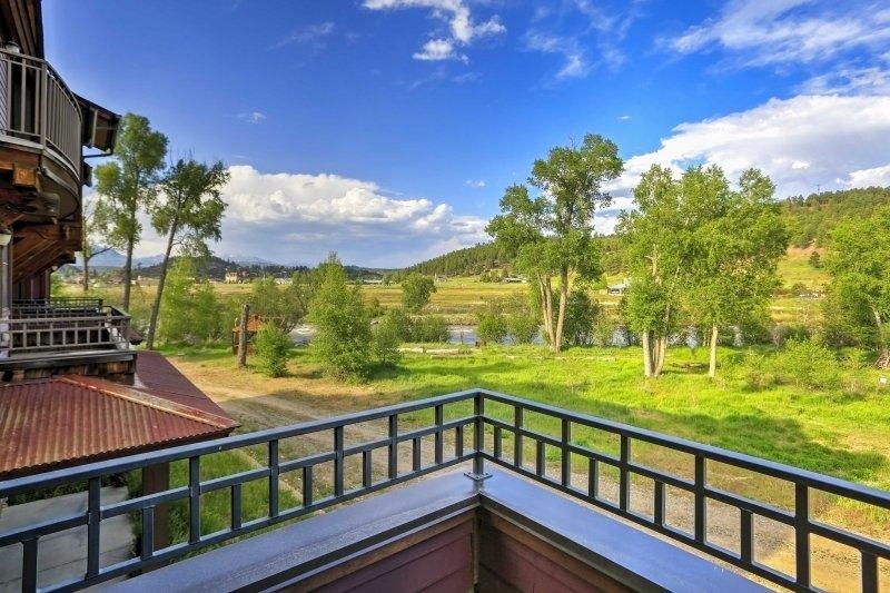 Your mountain getaway starts at this beautiful Pagosa Springs vacation rental!