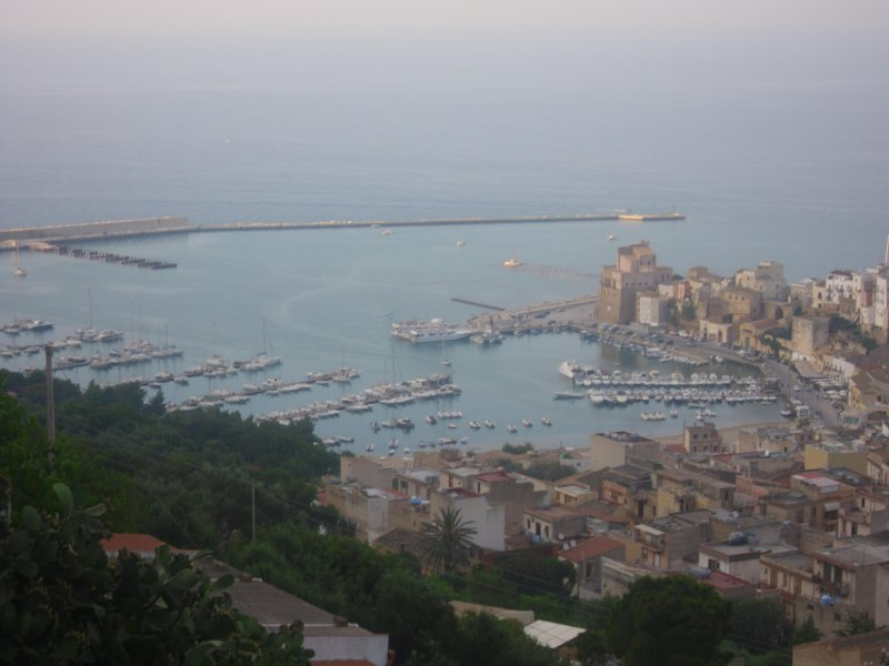 Castellammare view of the gulf