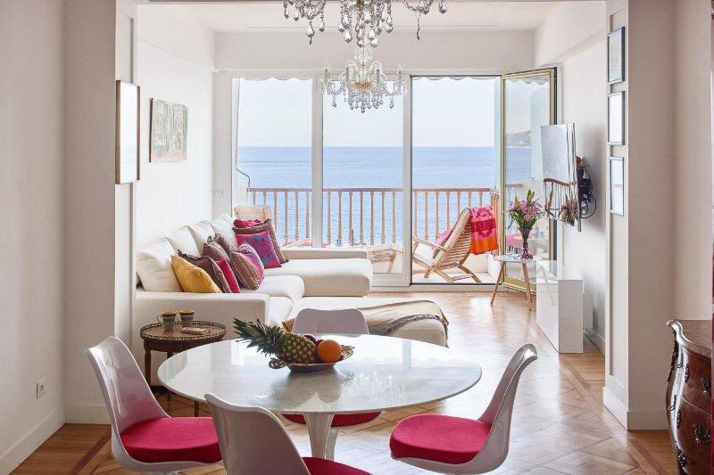 Magnífica vista al mar apartamento en el Paseo de los Ingleses.