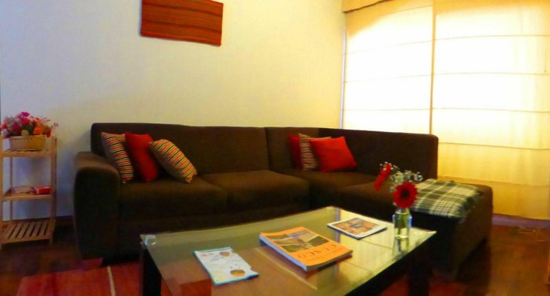 Acogedora sala de estar.