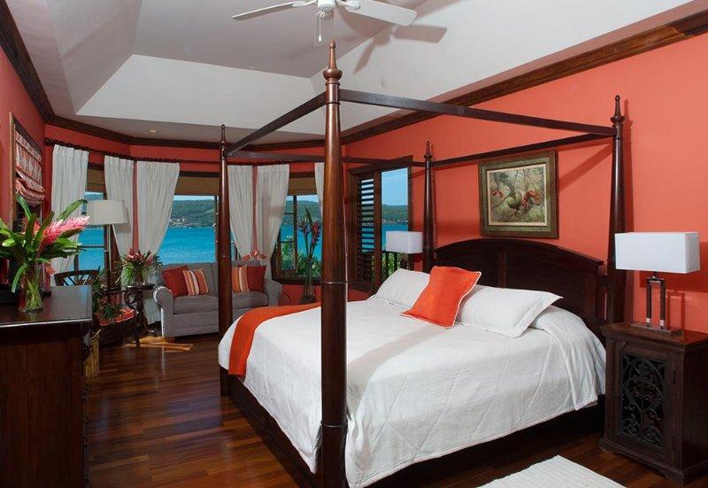 Papaya Bedroom
