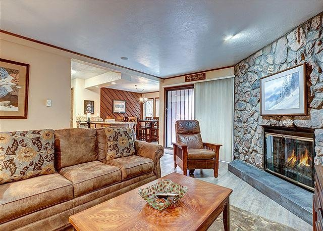 Park Place Living Area Breckenridge Lodging Vacation Rental
