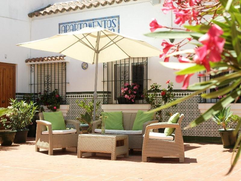 Common patio Andalusian stile