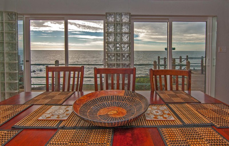 ocean views from diningroom, sunroom, fireplace room and kitchen