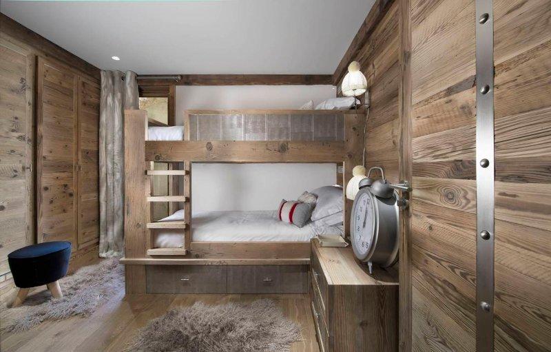 children's bedroom with separate bathroom
