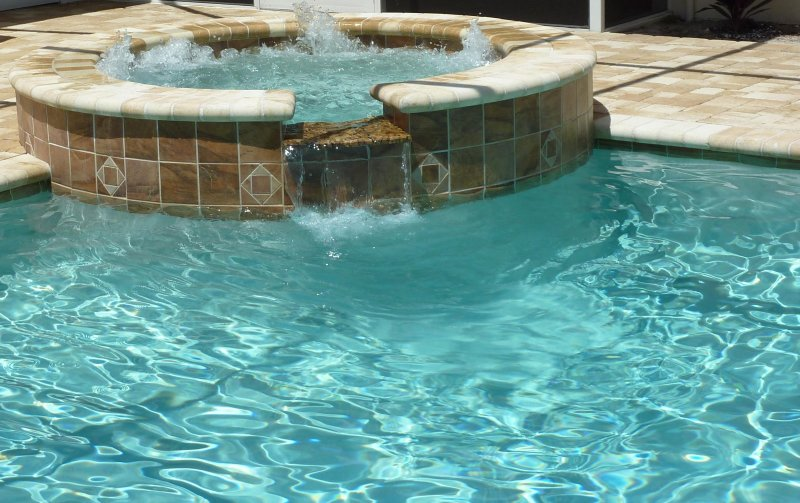 whirlpool at the community pool