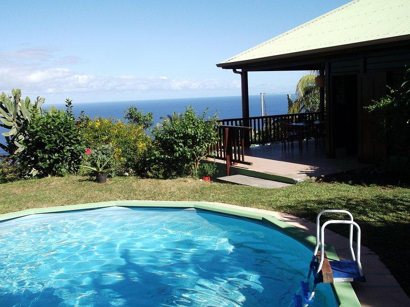garden, swimming pool, ground floor veranda