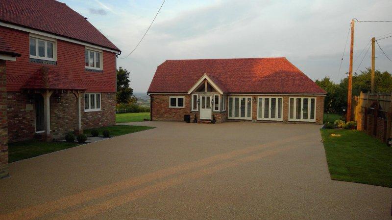 Springwood Cottage Front Elevation including Driveway