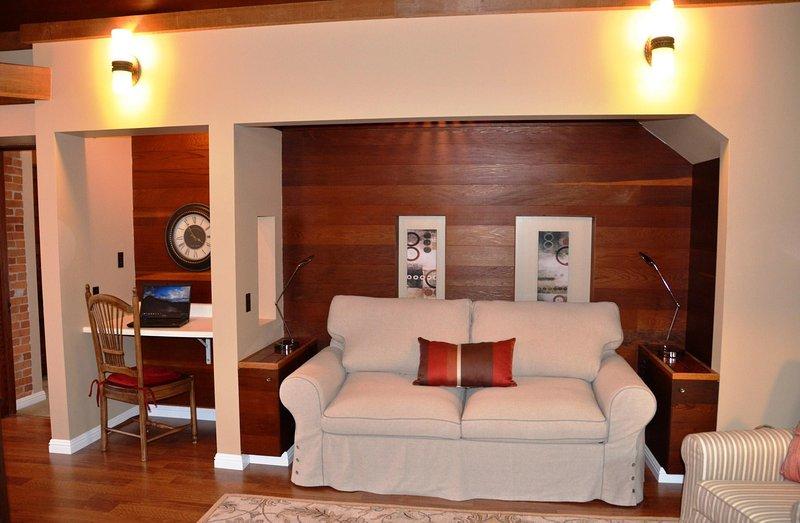 Arcata Stay Stay passerelle 2 BD / Canapé 2 Location BA de vacances se transforme en lit double