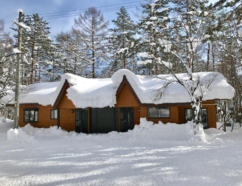 Hinoki Cabin Hakuba, holiday rental in Chubu