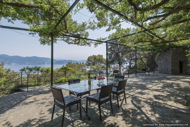 Villa Terrazza Portofino villa rental - Italy, holiday rental in Ruta