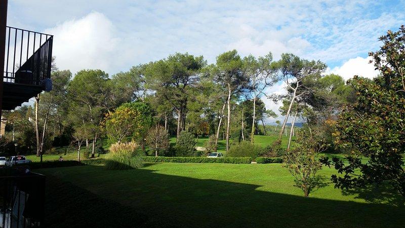 studio avec vue sur golf de St Donat, piscine., holiday rental in Mouans-Sartoux