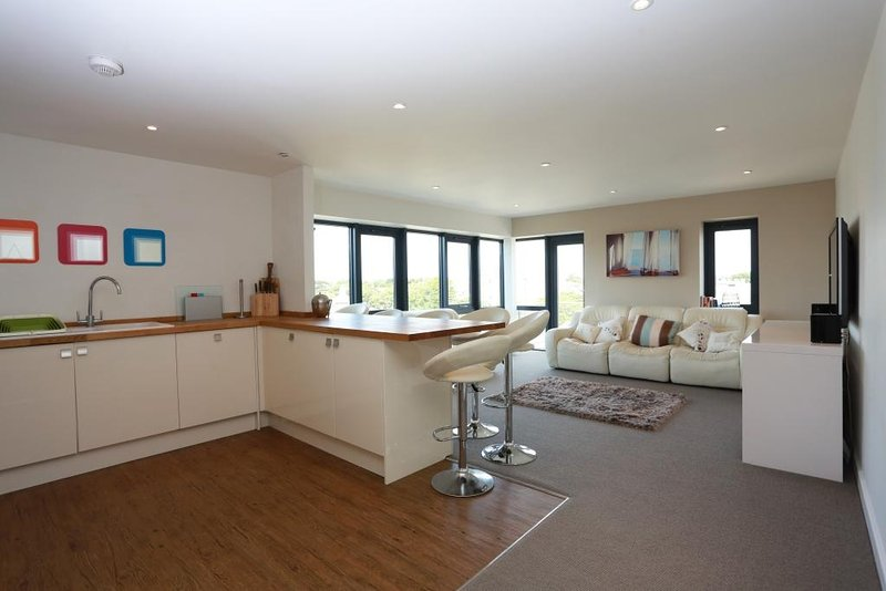 BOURNECOAST: PENTHOUSE APARTMENT LOCATED IN THE HEART OF BOURNEMOUTH - FM6065, holiday rental in Bournemouth