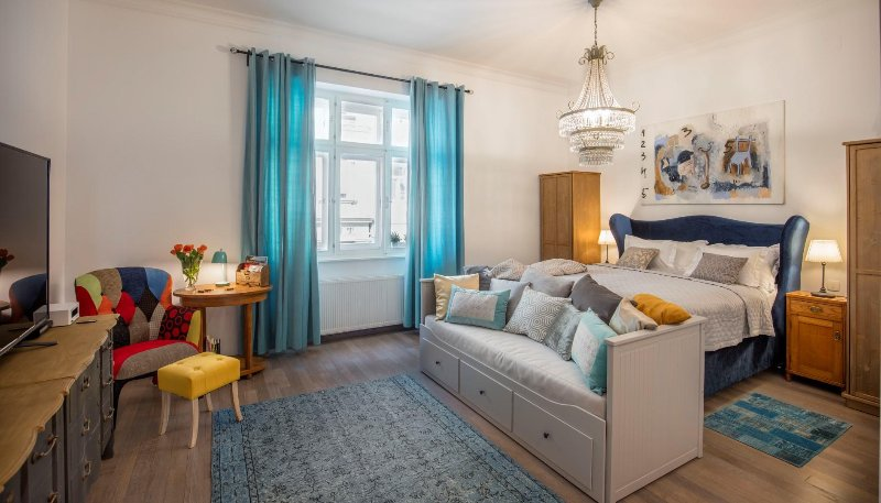 The atmosphere of Old Zagreb-style apartment