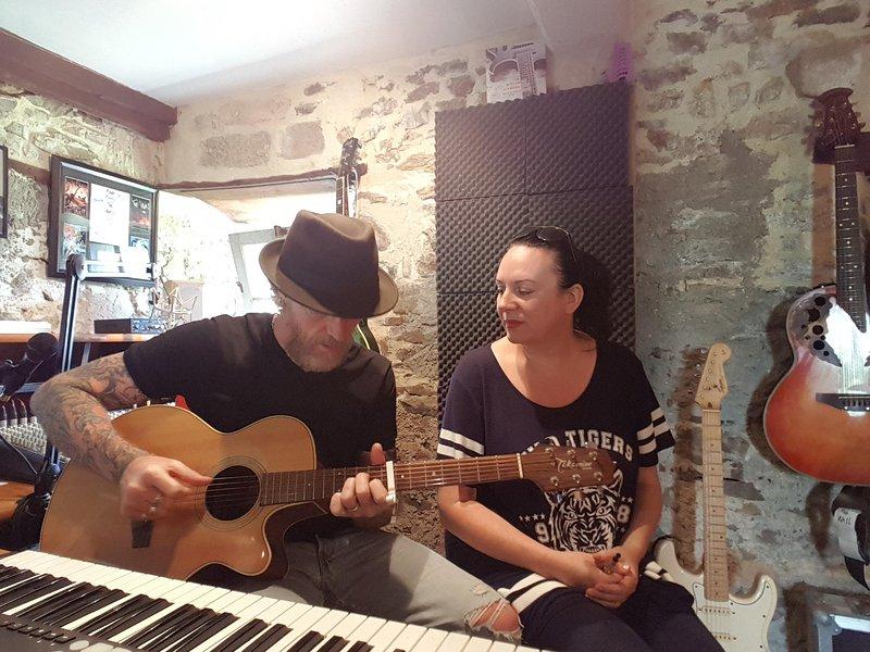 Songwriting no estúdio