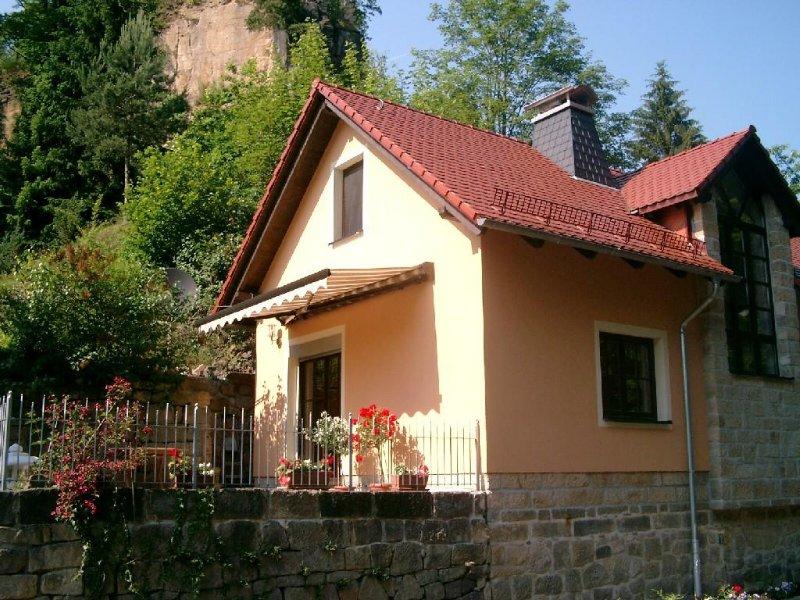 Allein stehendes Ferienhaus im Liebethaler Grund, location de vacances à Pirna