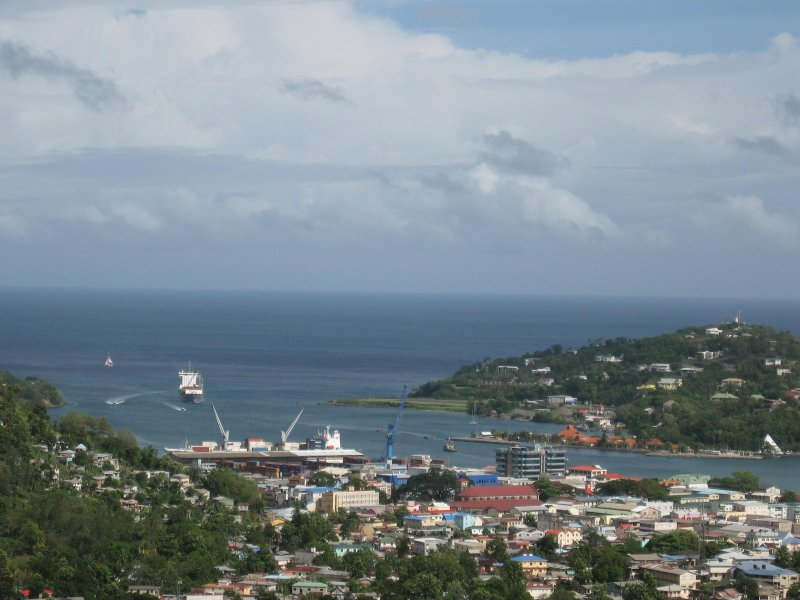 The Castries Basin