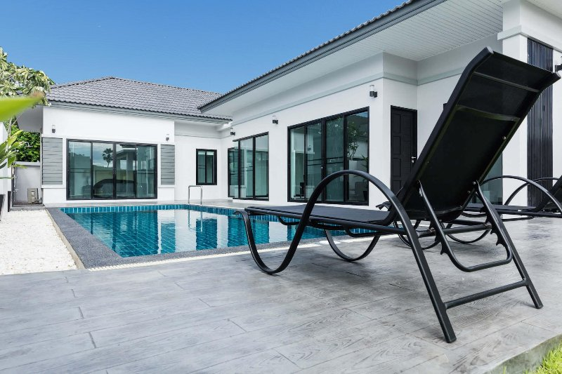 Pool Villa Pak Nam Pran, holiday rental in Pranburi