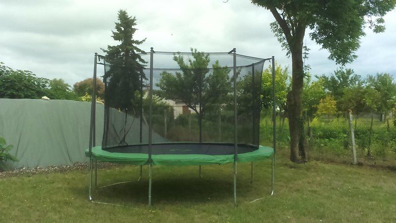 Trampoline for all to enjoy