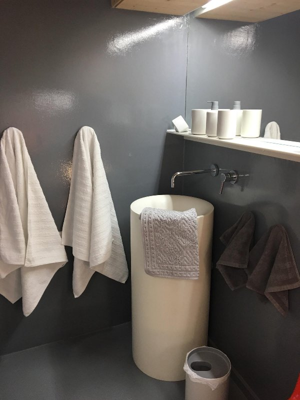 Suite shower room