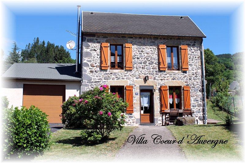Villa Coeur d'Auvergne  4*, location de vacances à Rochefort-Montagne