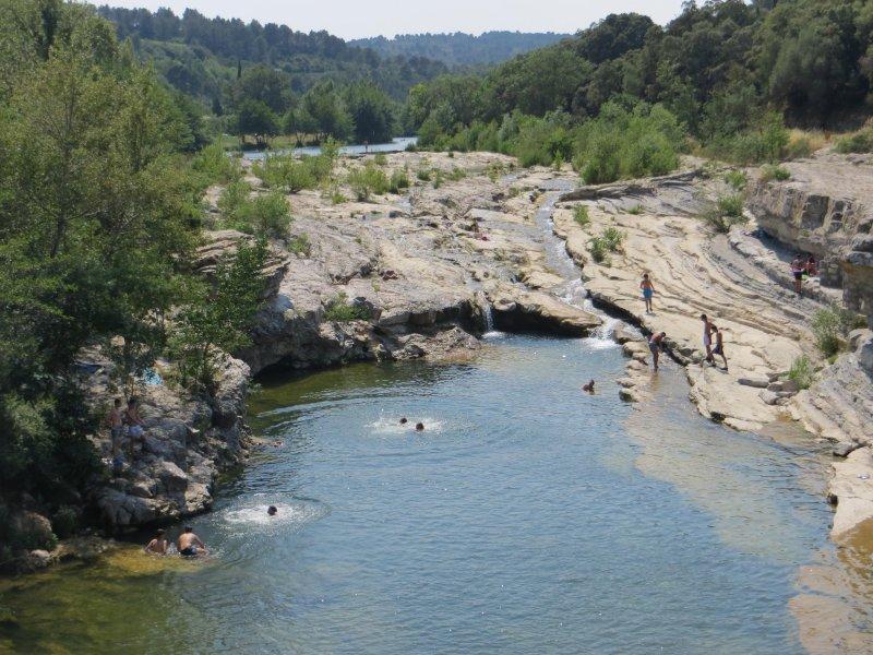 natation Rivière à Ribaute