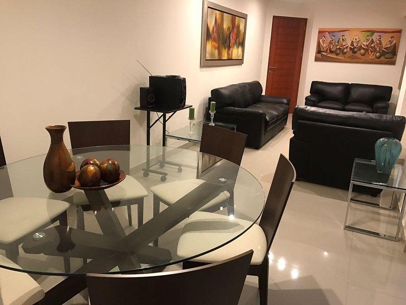 Departamento amoblado, alquiler de vacaciones en San Borja