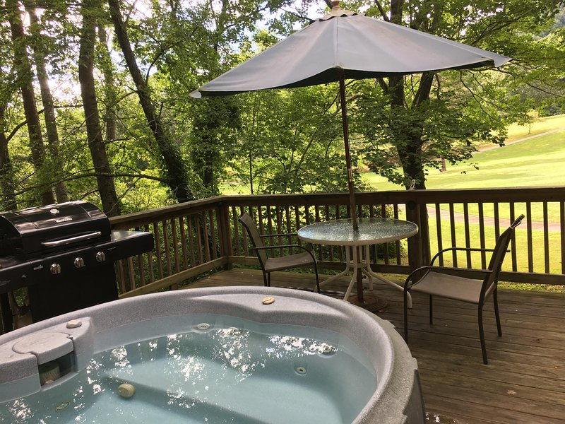 Hole in One - Hot Tub, Close to Fishing,Fireplace, Romantic, Views, Free WiFi ,, location de vacances à Asheville