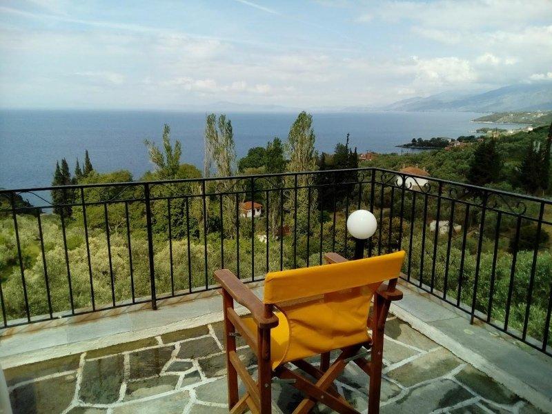Tsorni Hill Cottage A • Lefokastro, Pelion, holiday rental in Argalasti