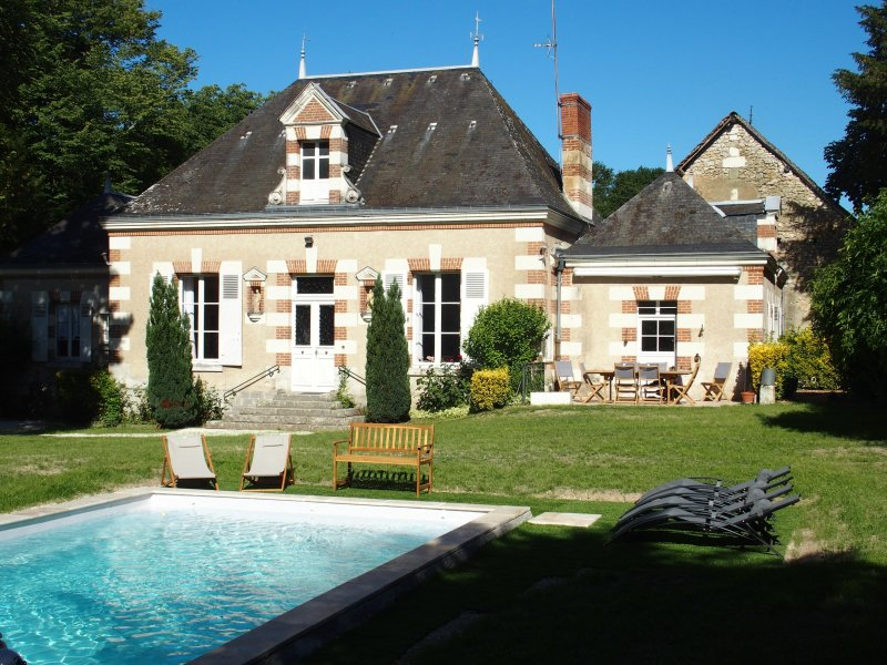 Gîte, ancien relais de chasse du château de Chaumont sur Loire, holiday rental in Chaumont-sur-Loire