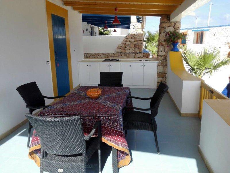 Villette di Ro Villetta Gialla Lampedusa, holiday rental in Grecale