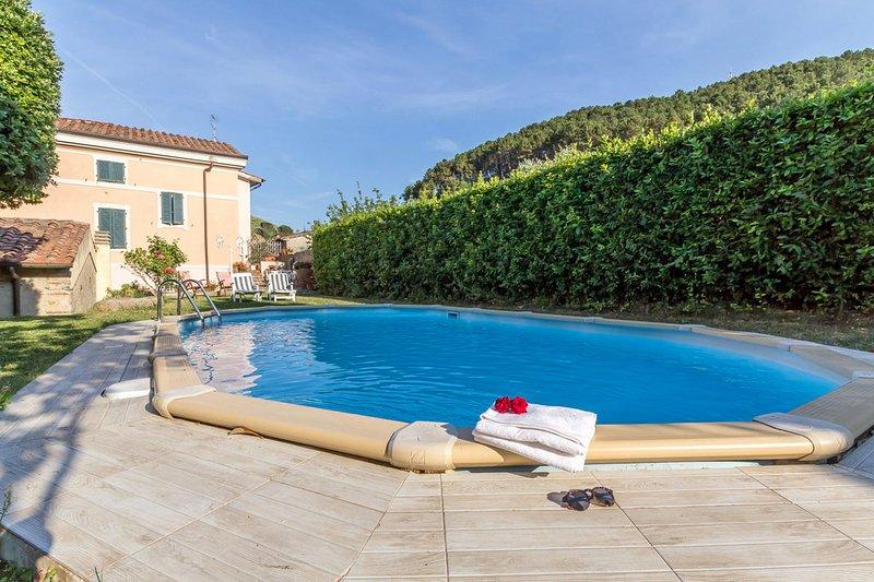 Beautiful outside pool