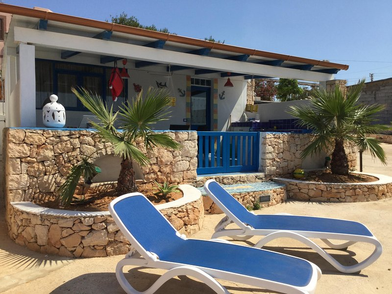 Villette di Ro Villetta Blu Lampedusa, Ferienwohnung in Lampedusa