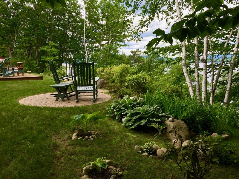 Bring your friends or family for the ultimate lake retreat when you stay at 'Bluffs Cottage,' a newly renovated 3-bedroom, 1-bathroom vacation rental cottage in Ossipee, New Hampshire.