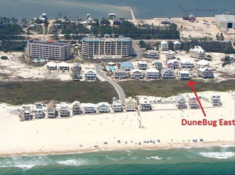 Ariel View of Dune Bug
