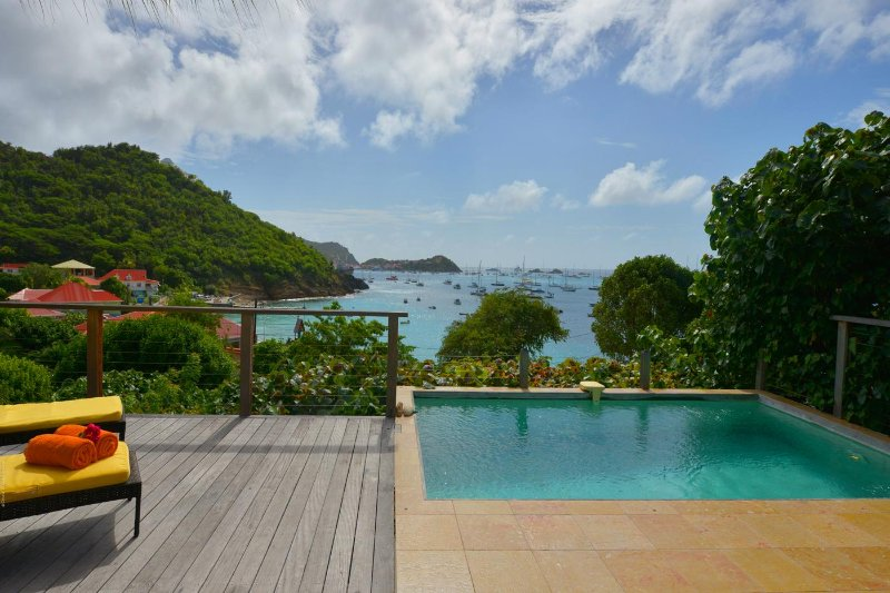 Amazing Honeymoon villa with Ocean view, location de vacances à Corossol
