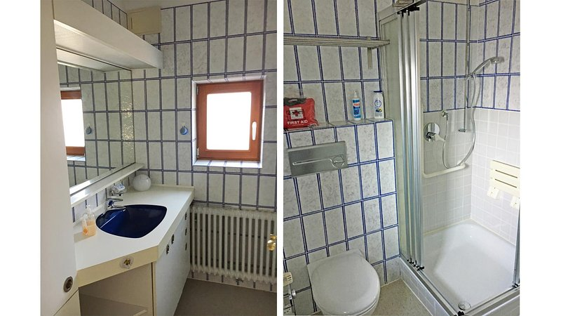Another bathroom (shower, WC)