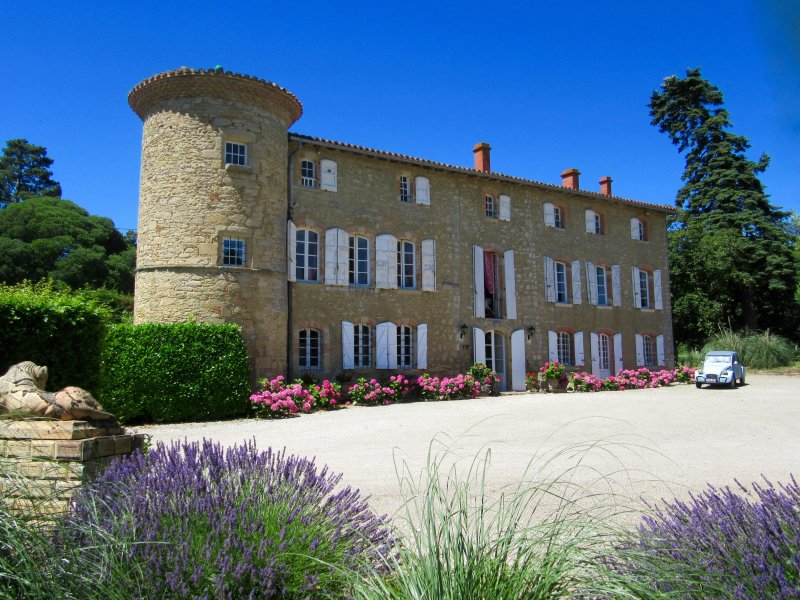 Red Y Pink gite - Chateau de Montoussel - Toulouse, holiday rental in Villenouvelle