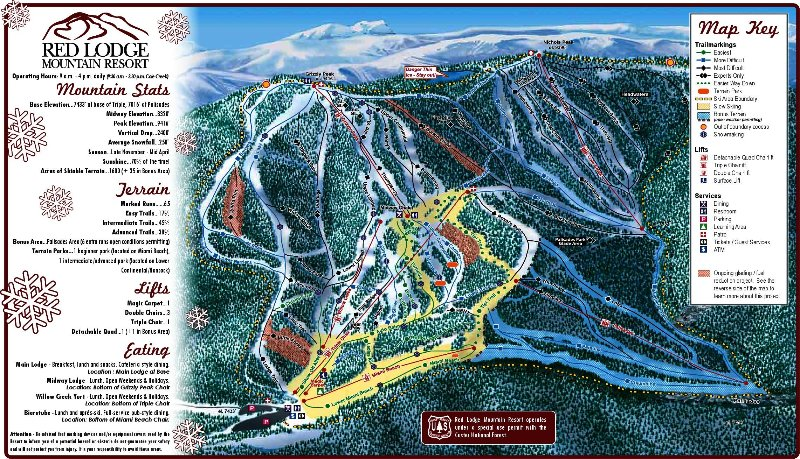 Red Lodge Mountain Ski Resort