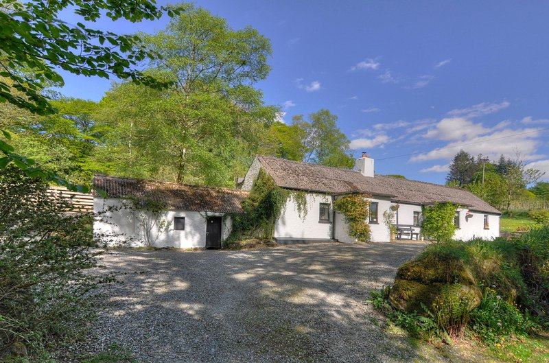 Guest House: Boutique elegance nestled by a forrest in the Wicklow Mountains, holiday rental in Donard