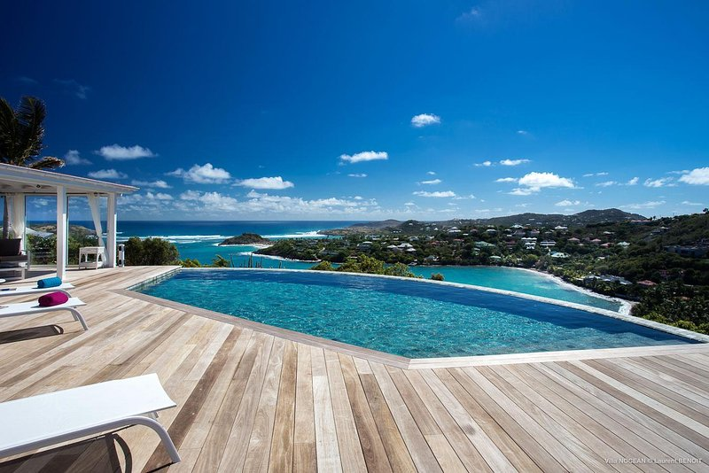 Villa Nocean, perfect for families and groups of friends in Mont Jean, Ferienwohnung in Marigot