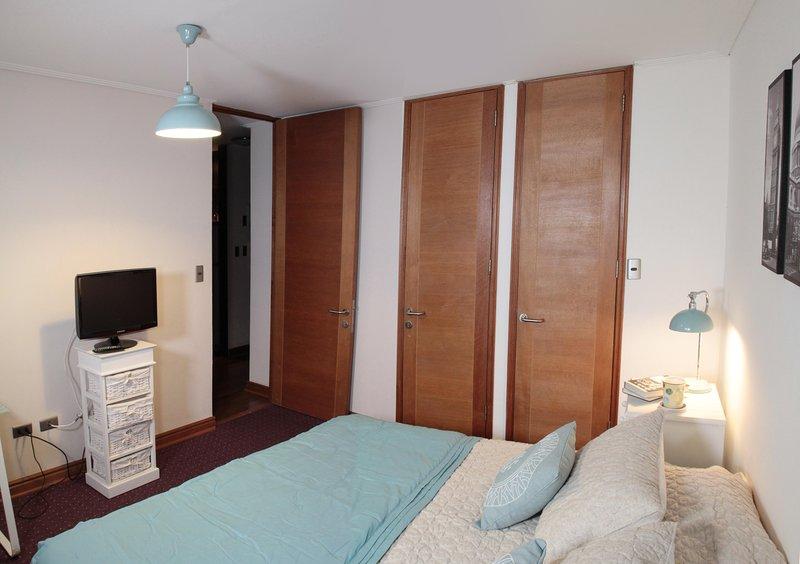 Vista dormitorio en suite