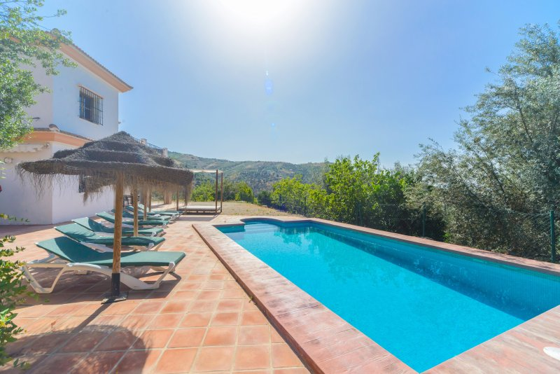 Beautiful villa, private swimming pool and terraces.