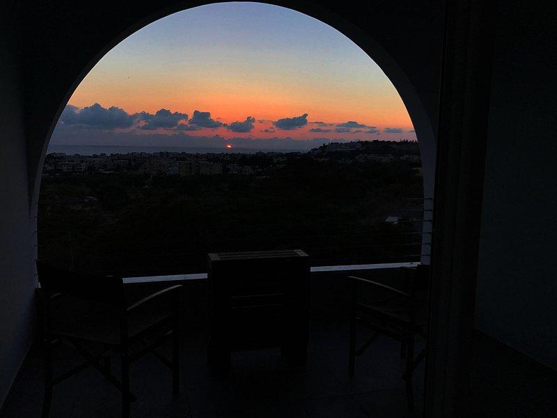 Sunset at Paphos
