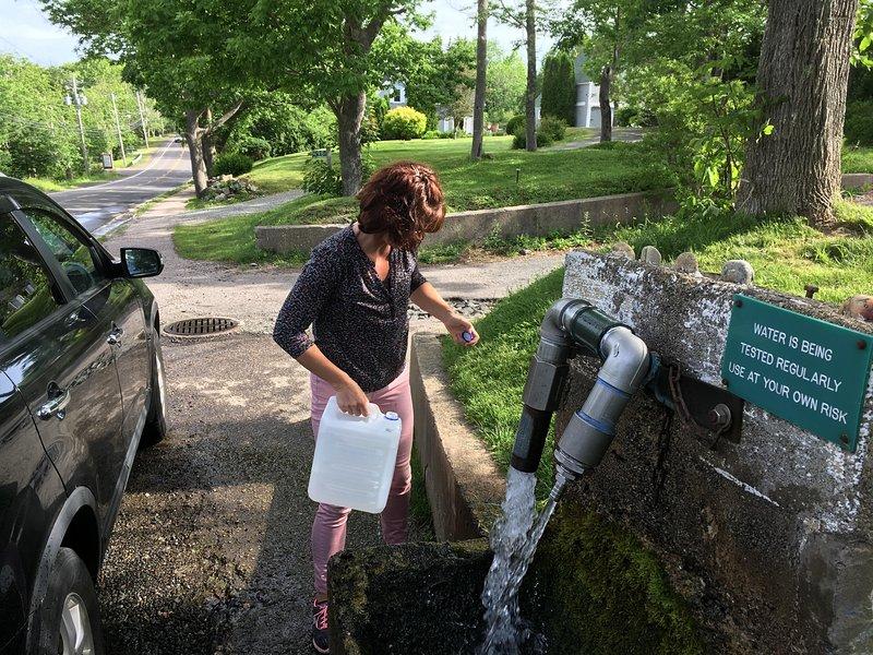 free water spot in Weymouth